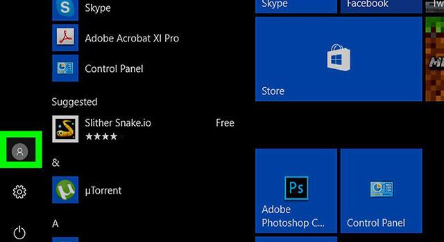 آموزش حذف تصویر پروفایل کاربر در ویندوز 10 2