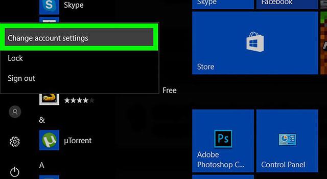 آموزش حذف تصویر پروفایل کاربر در ویندوز 10 3