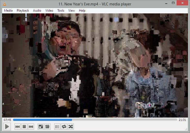 حل مشکل لگ زدن فیلم در VLC 2